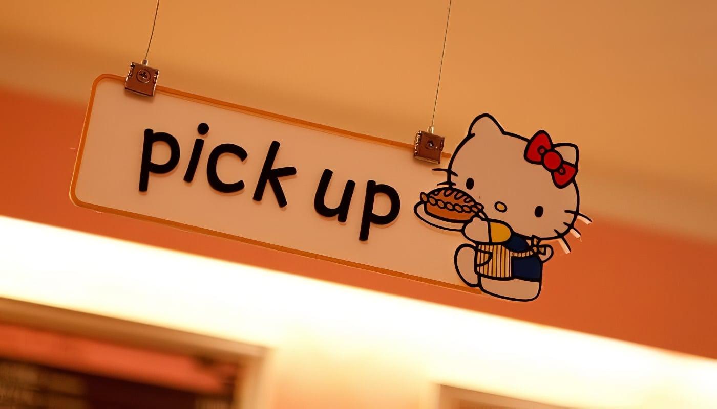 Café, Hello Kitty, Séoul