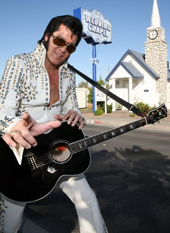 Chapelle Graceland, mariage Las Vegas, Elvis Presley