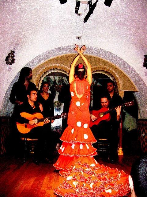 Flamenco, tablao, Barcelone