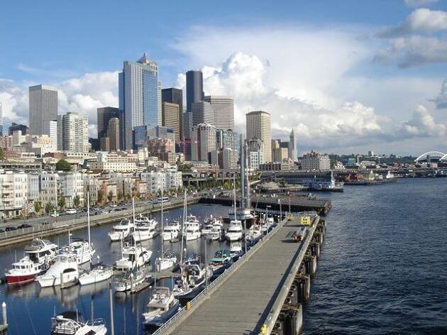 Front de mer, waterfront, Seattle