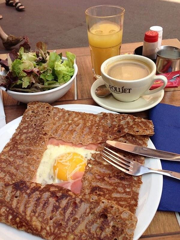 Galette bretonne spécialité francaise
