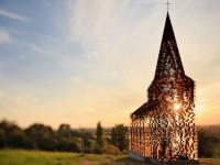 Gijs Van Vaerenberg, église, Looz, Belgique, Lire entre les lignes