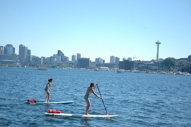 Lac Washington, Seattle