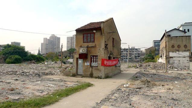 Maison-clou, Chine, propriétaires, partir