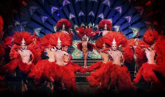 Assistez au cabaret du Moulin Rouge