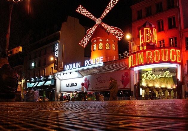 Moulin Rouge, revue cabaret spectacle