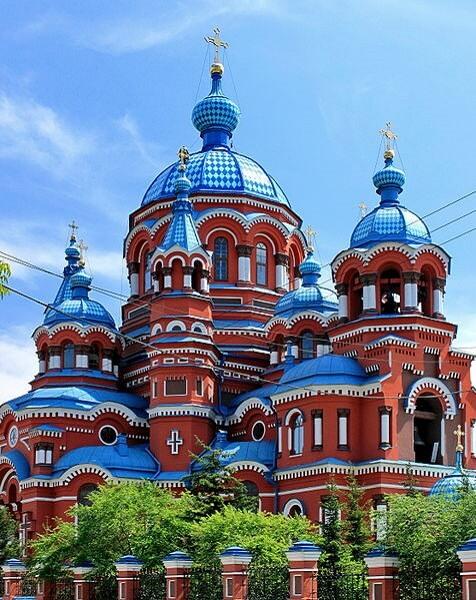 Notre Dame de Kazan, Irkoutsk, Russie