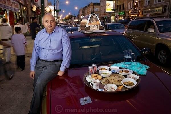 Peter Menzel, quantité nourriture quotidienne citoyens du monde