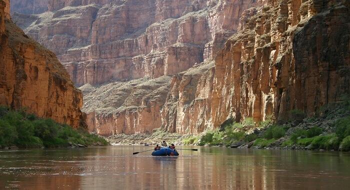 Rafting Colorado, Las Vegas