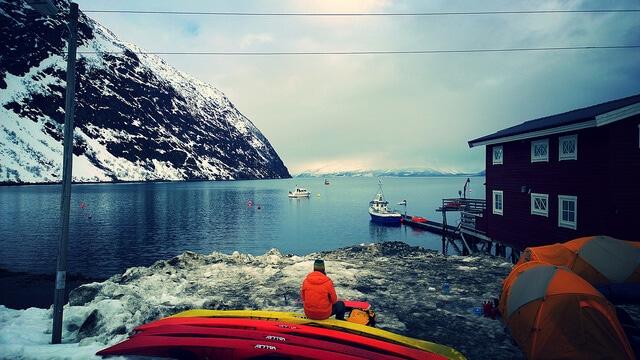 Sport Norvège, kayak