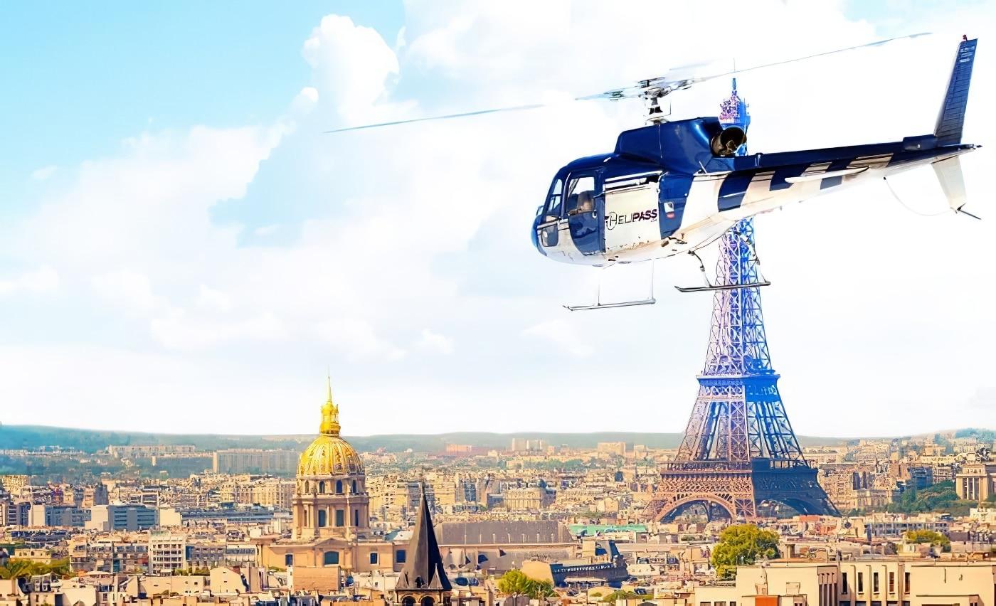Survol hélicoptère Paris Versailles