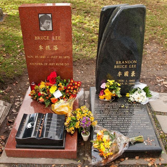 Tombe de Bruce Lee, Seattle