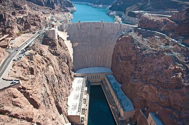 Visite du barrage Hoover, Las Vegas