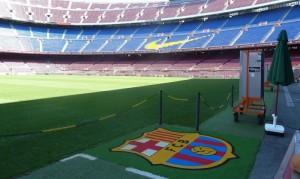 Visite du Camp Nou, Barcelone