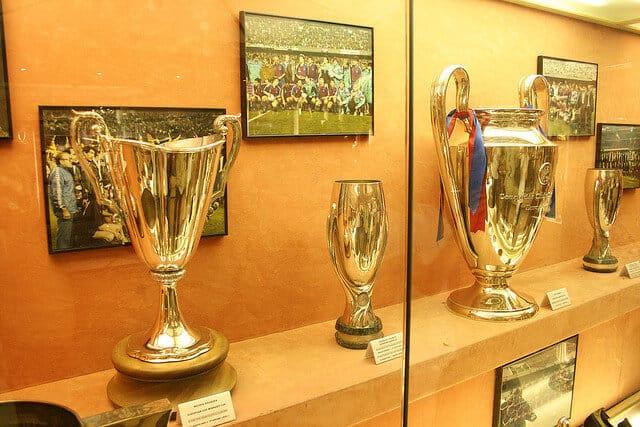 Visite du Camp Nou, Barcelone, Musée