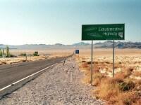 Visite de la Zone 51, ovni, Las Vegas