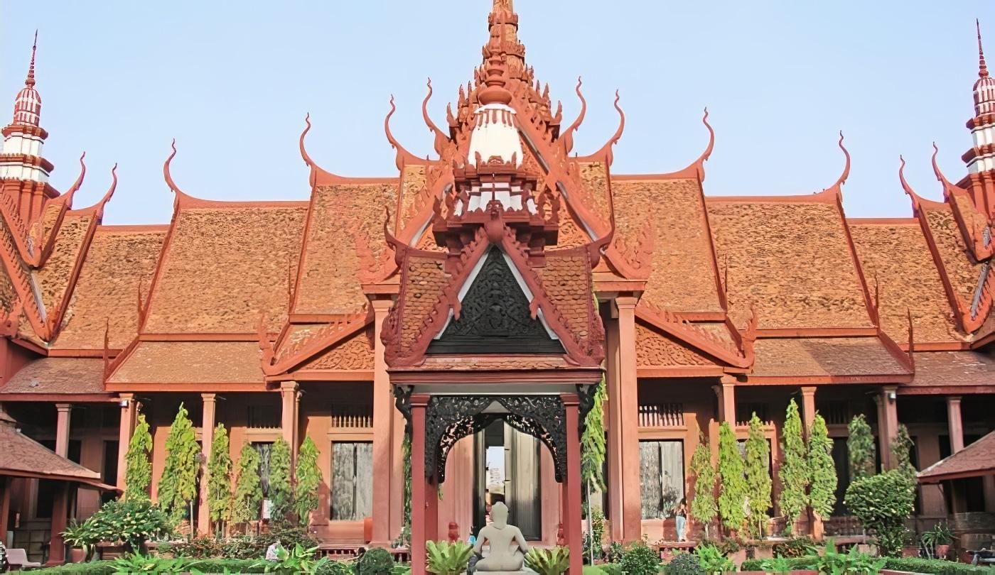 Cambodge, temple, Phnom Penh