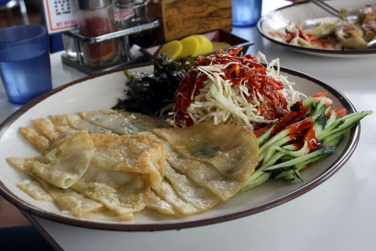 Les Mandu, raviolis coréens