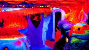 Electric Ladyland, musée de l'art phosphorecent, Amsterdam-1