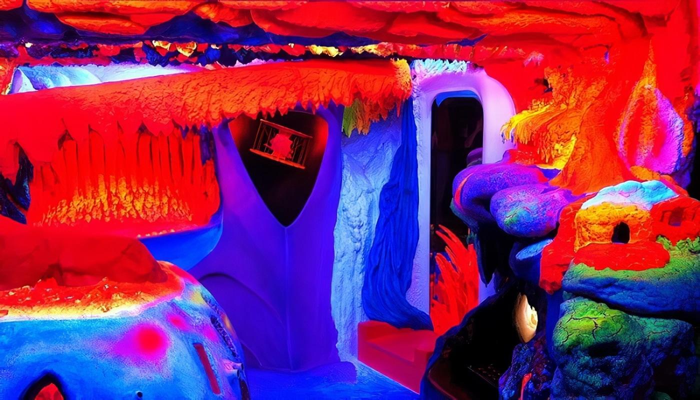 Electric Ladyland: le musée de l'art phosphorescent à Amsterdam