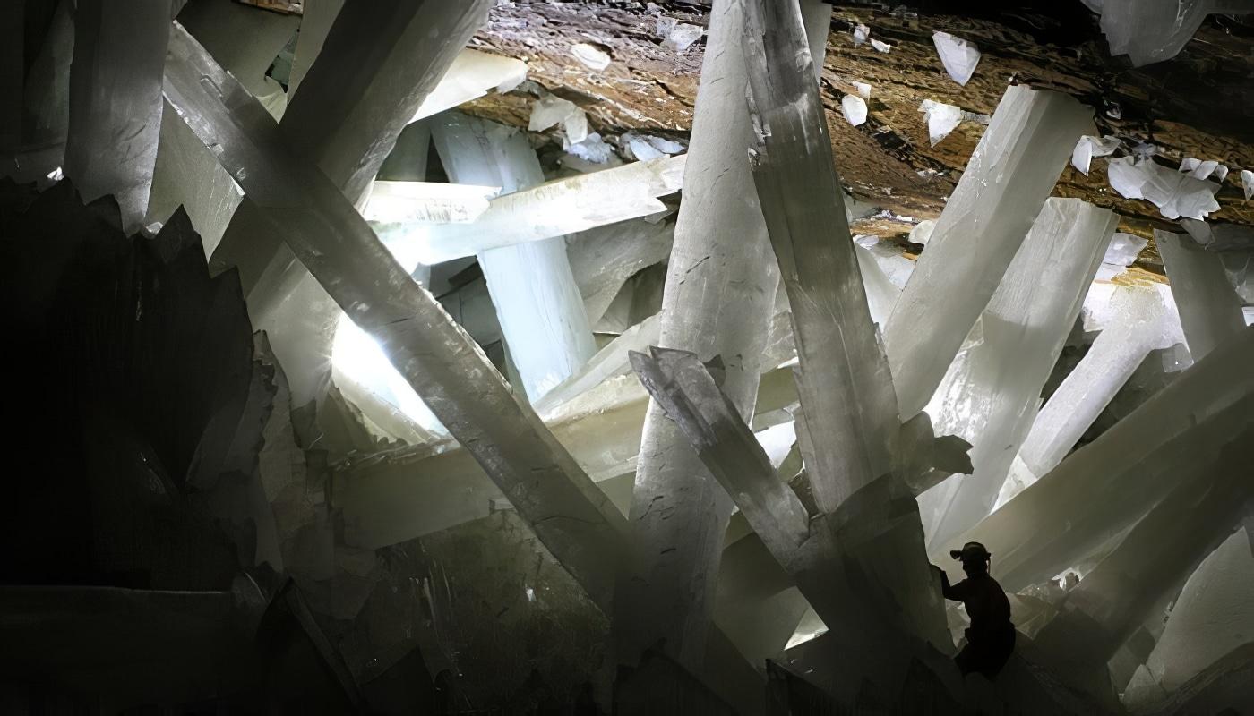 Naïca, la grotte aux cristaux géants au Mexique