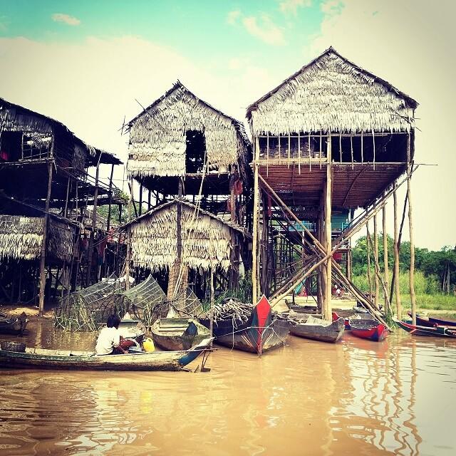 Lac Tonle Sap, Cambodge