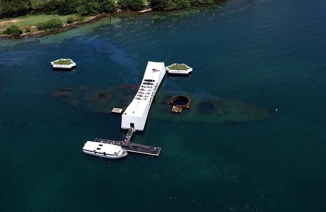 Memorial, USS Arizona, Hawaï