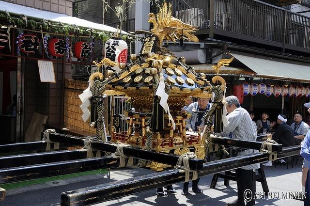 Sanja-Matsuri, yakuzas, Tokyo