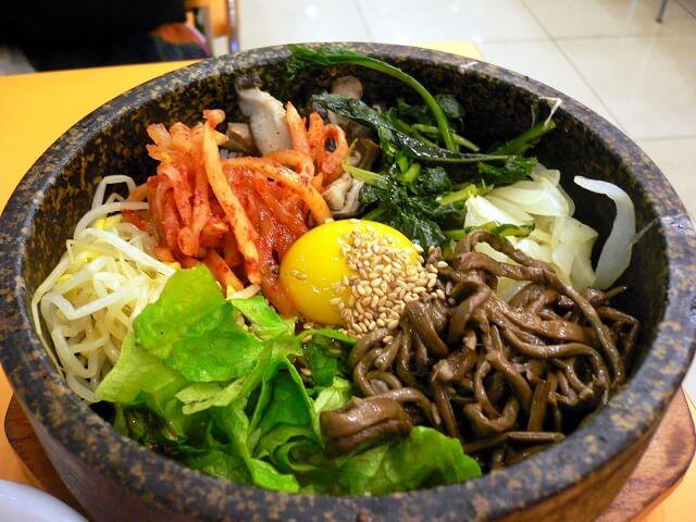 Spécialités coréennes, Bibimbap