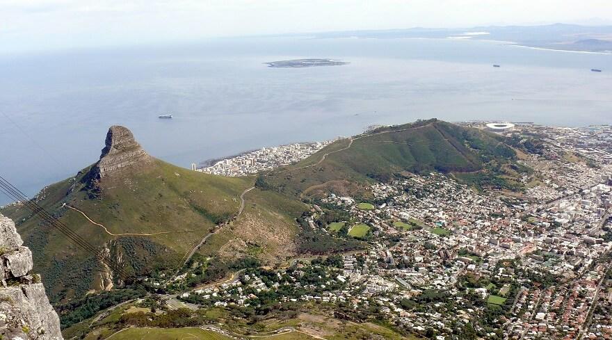 Table Mountain, Le Cap, Afrique du sud