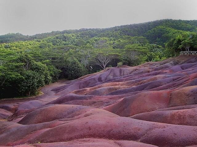 Terre aux 7 couleurs, île Maurice