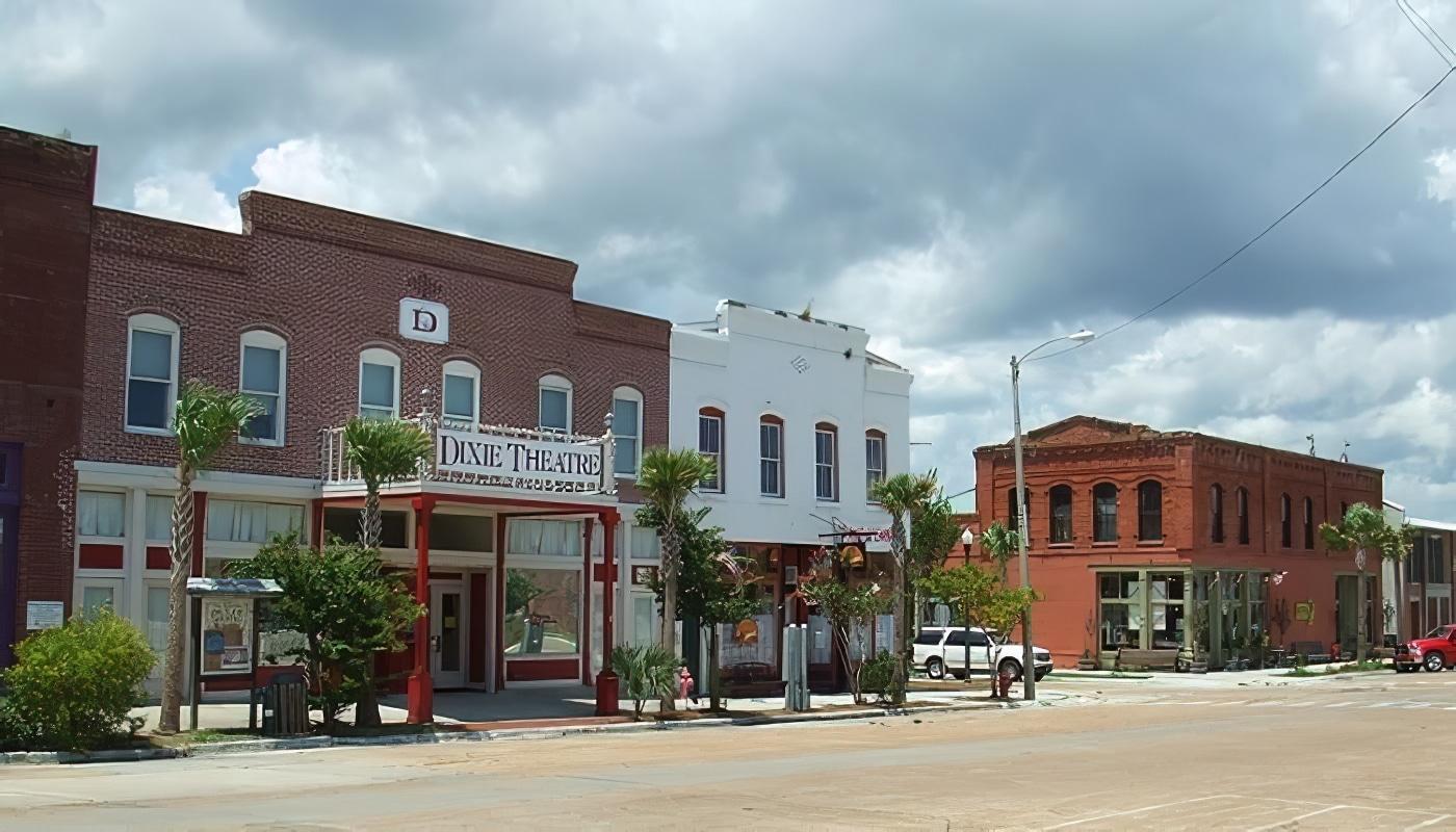Les charmes de la Floride d'autrefois dans la ville d'Apalachicola