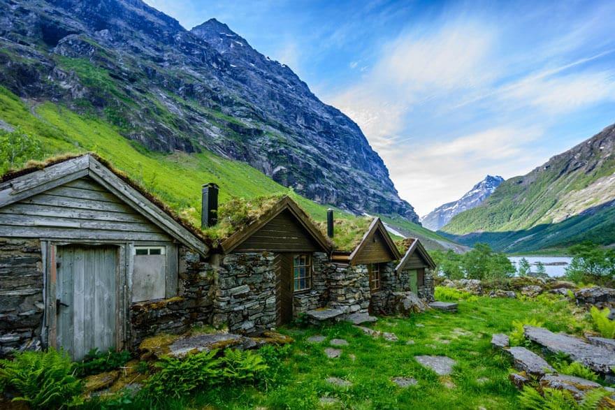 Architecture, Norvège, style viking, voyage