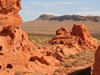 balade à cheval, valley of fire, las vegas