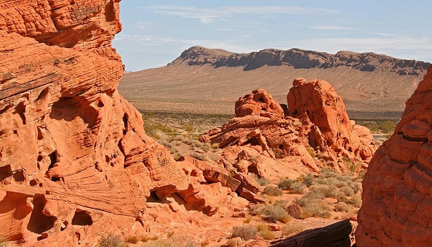 Las Vegas: balade à cheval et dîner dans la Valley of Fire