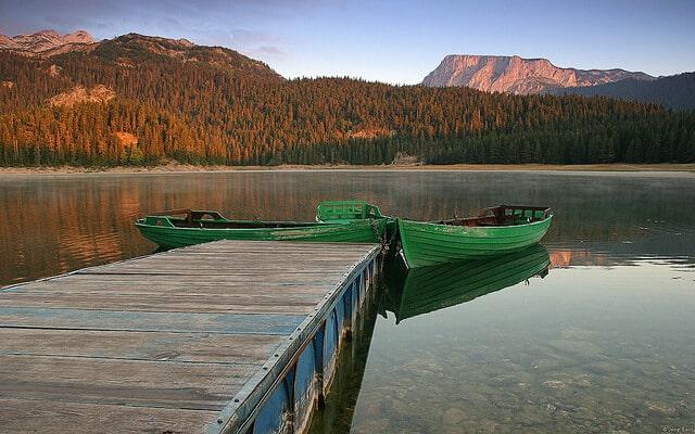 Durmitor, Lac Noir, Monténégro