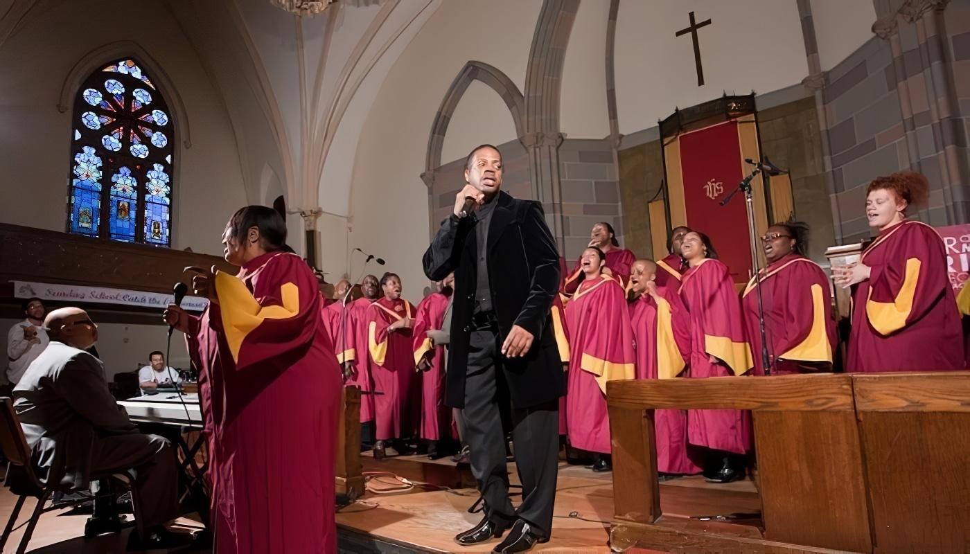 Visite du quartier de Harlem et messe Gospel