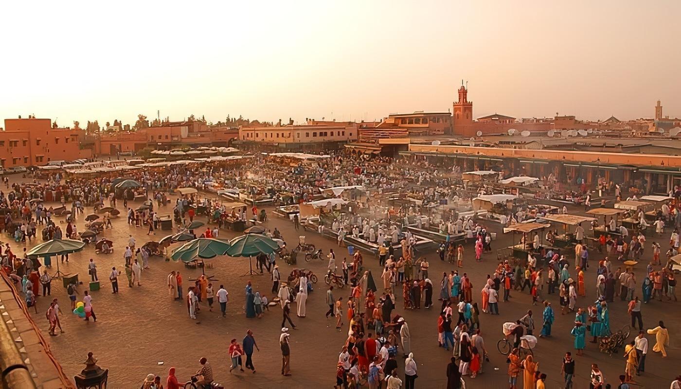 Maroc, passeport obligatoire, Marrakech, Jemaa el Fna