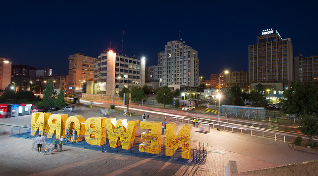 Monument Newborn, Kosovo