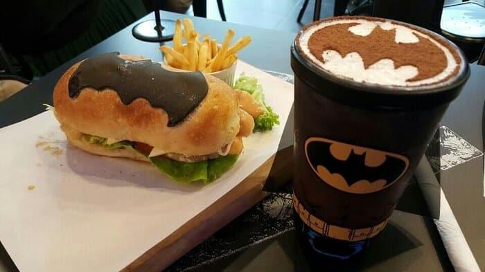 Un café Batman vous accueille à Kuala Lumpur