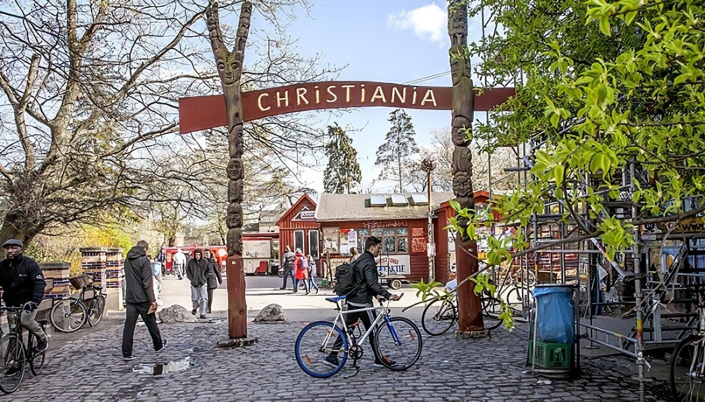 Christiania, le quartier «libre» de Copenhague