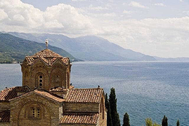 Eglise Saint-Jean de Kaneo, Ohrid