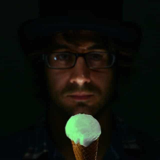 glace, méduse, brille, Londres