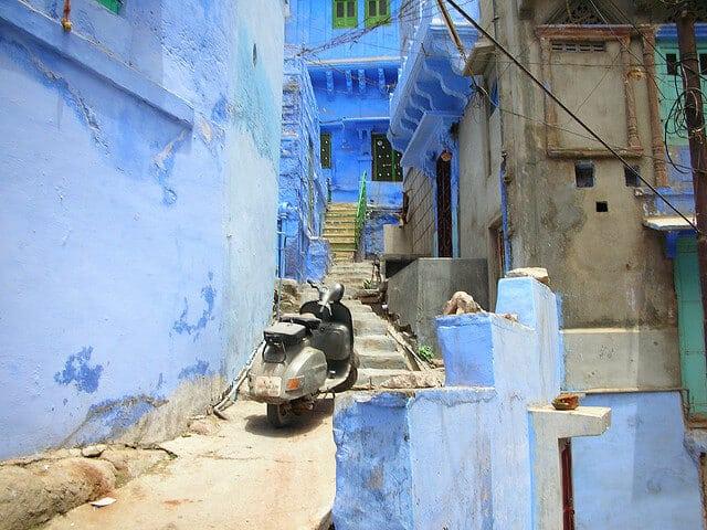 jodhpur, ville bleue