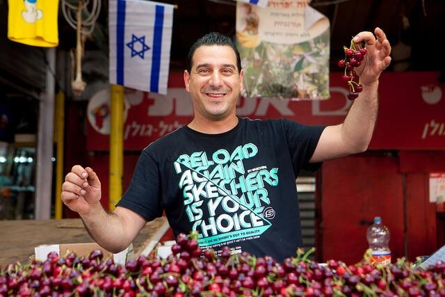 Marché du Carmel, Tel-Aviv