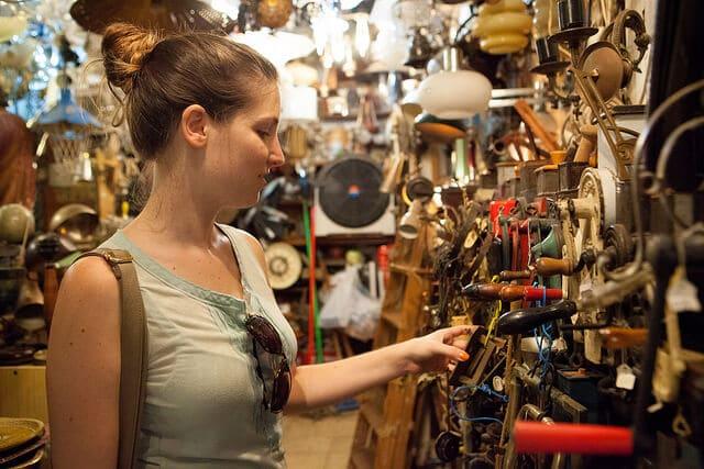 marché aux puces, Jaffa, Tel-Aviv