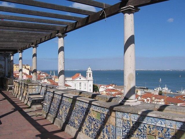 Miradouro de Santa Luzia, Lisbonne