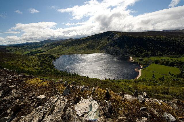 Montagnes de Wicklow, road trip, Irlande