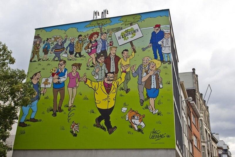 parcours de bd, Bruxelles