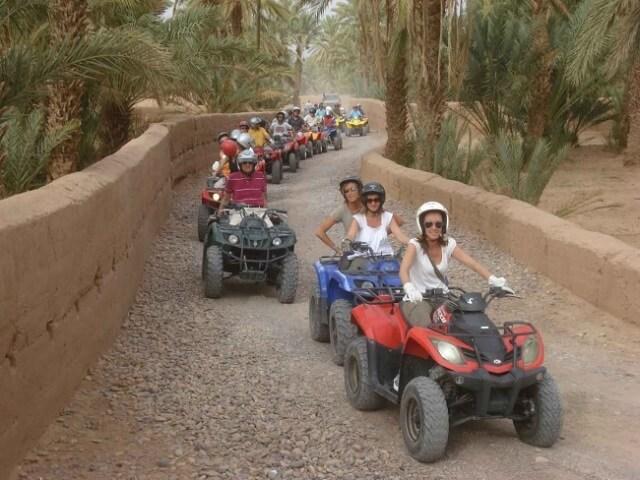 quad, buggy, Marrakech